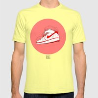 Air Forces 1 Tribute Mens Fitted Tee Lemon SMALL