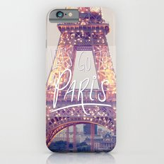 let's go to paris iPhone 6 Slim Case