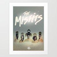 Misfits Print Art Print
