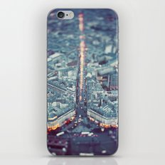 Paris, City of Lights. iPhone & iPod Skin
