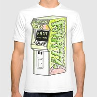 FART, THE GAME Mens Fitted Tee White SMALL