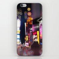 Times Square Blurrr-Bokeh iPhone & iPod Skin