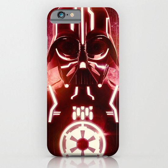 Tron Vader Red iPhone & iPod Case
