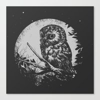 Friend of the Night Canvas Print