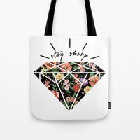 Stay Sharp! Tote Bag