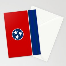 State flag of Tennessee - Authentic version Stationery Cards