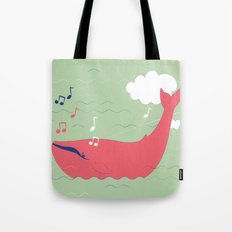 The Singing Whale Tote Bag