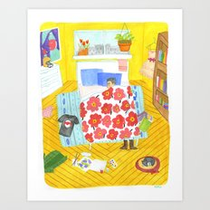 Perfect Bedroom Art Print