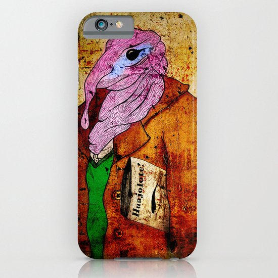 Draw me a Huajolote! iPhone & iPod Case