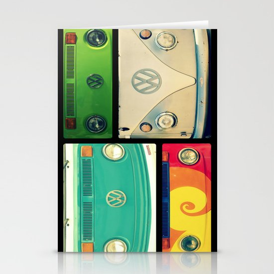 VW Collage Stationery Card