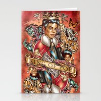 King of the Pop Stationery Cards