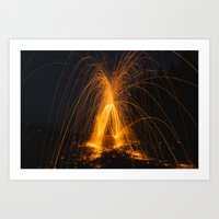 Steel Wool 2 Art Print