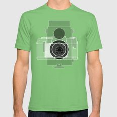 Camera History Mens Fitted Tee Grass SMALL