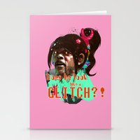 Does He Look Like A GLIT… Stationery Cards