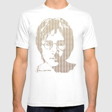There is a MAGI in Imagine SMALL Mens Fitted Tee White