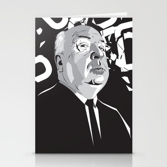 Hitchcock Stationery Card