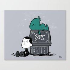 Call Of Snoophulhu Canvas Print