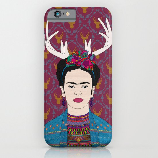 DEER FRIDA iPhone & iPod Case