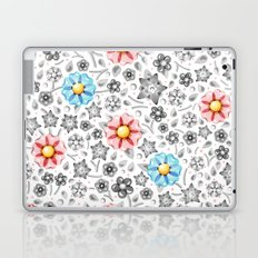 Millefiori Monotone Laptop & iPad Skin