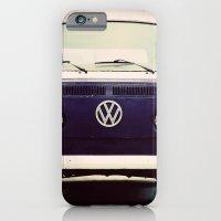 Blue VW Bus iPhone 6 Slim Case