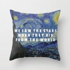 Starry Step Throw Pillow