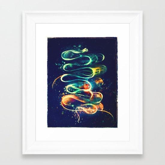 Leptocephalus Framed Art Print