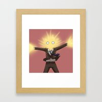 With a BANG - Doctor Who Framed Art Print