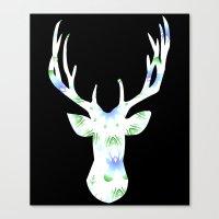 Buck Shot Canvas Print
