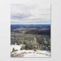 Killington Summit View Canvas Print