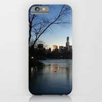 iPhone & iPod Case featuring Dusk in the City by Maxime