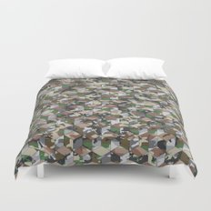 CUBOUFLAGE MULTI (SMALL) Duvet Cover