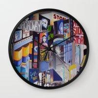 Broadway Wall Clock