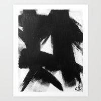 No. 92 - Modern Abstract… Art Print
