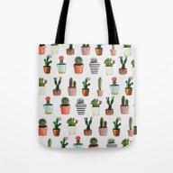 CACTI | Watercolor Succu… Tote Bag