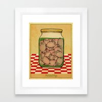 Pickled Pig Revisited Framed Art Print