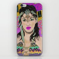 Bad Girl iPhone & iPod Skin