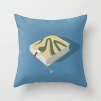Poisoned Words Throw Pillow