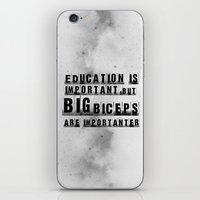 education is importanter iPhone & iPod Skin