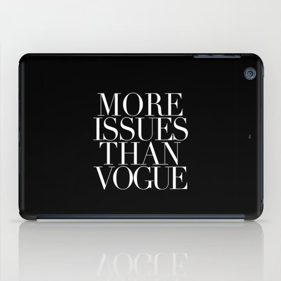 VOGUE {ISSUES} iPad Case