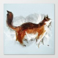 Ode To My Cat Canvas Print