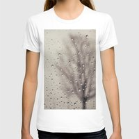 rain T-shirts featuring Rain  by Laura Ruth