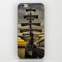 Tall Ship BAE Guayas iPhone & iPod Skin