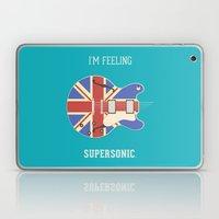 Supersonic Laptop & iPad Skin