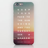 iPhone & iPod Case featuring Face to the Sunshine by Zeke Tucker