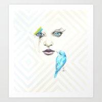 Silent Songs Art Print
