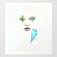 Silent Songs Art Print