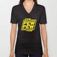 Pew Pew Pew Unisex V-Neck