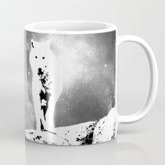 Walking on the moon Wolf Mug