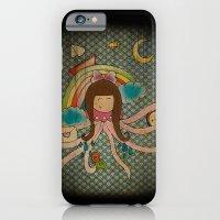 iPhone & iPod Case featuring I'm A Little Octopus by Duru Eksioglu