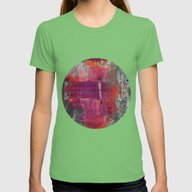 Close The Door Womens Fitted Tee Grass SMALL